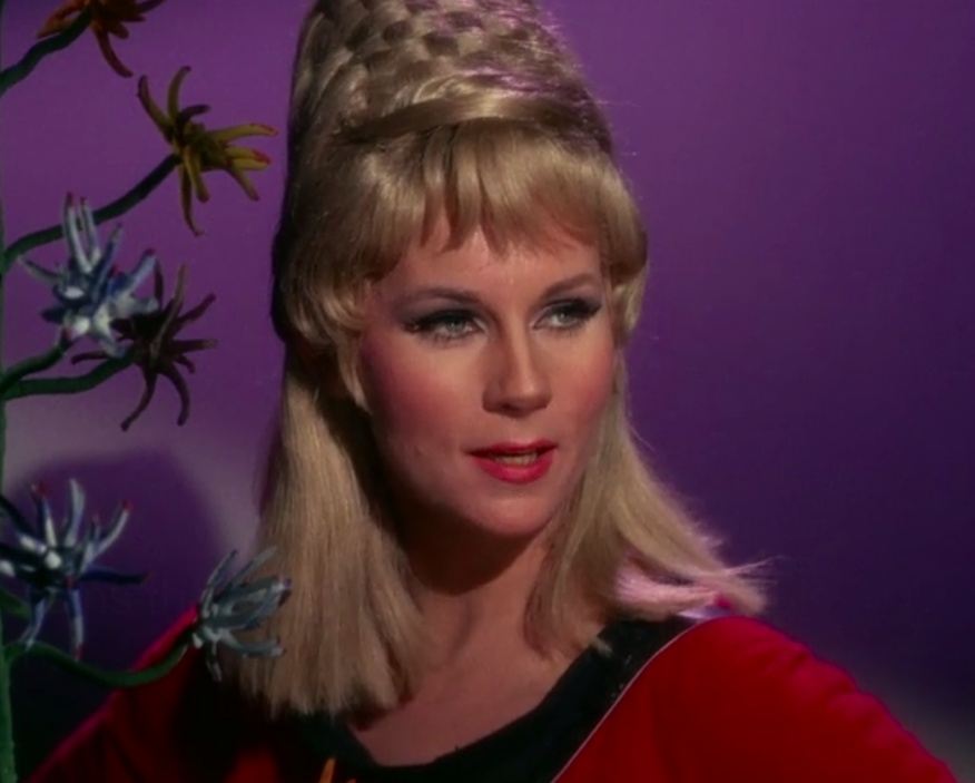 Janice Rand from Star Trek characters that disappeared